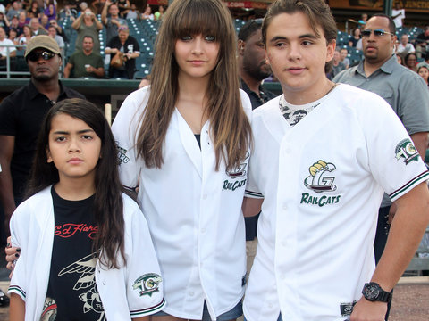 Paris Jackson Shares Rare Shot of 15-Year-Old Brother Blanket