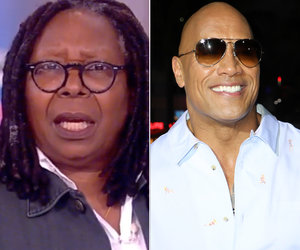 Someone at 'The View' Really Doesn't Want to See The Rock Run for President…