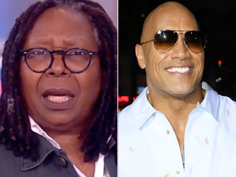 Someone at 'The View' Really Doesn't Want to See The Rock Run for President (Video)