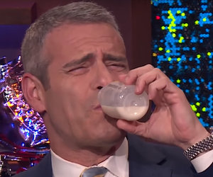 That Time Andy Cohen Drank Amber Tamblyn's Breast Milk Live on His Show