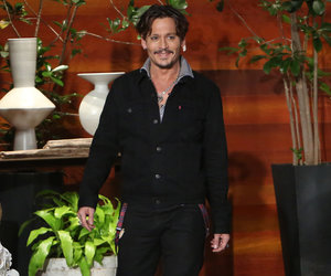 Depp Impersonates Trump on 'Ellen': He's 'Unable to Formulate a Sentence'