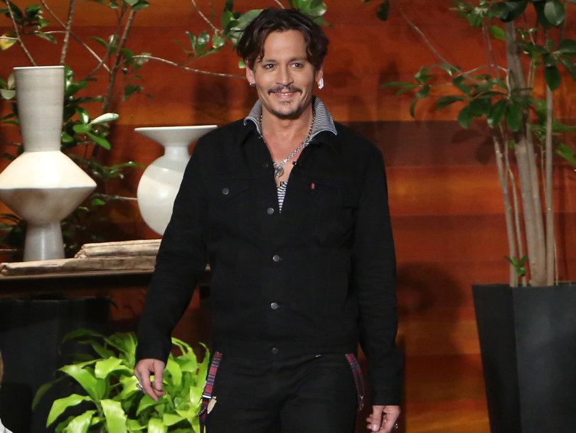 Depp Impersonates Trump on 'Ellen': He's 'Unable to Formulate a Sentence'
