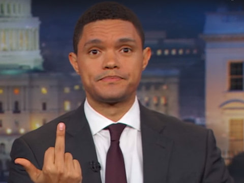 Why Trevor Noah Thinks Fox News Is Basically Donald Trump's Snapchat Filter (Video)