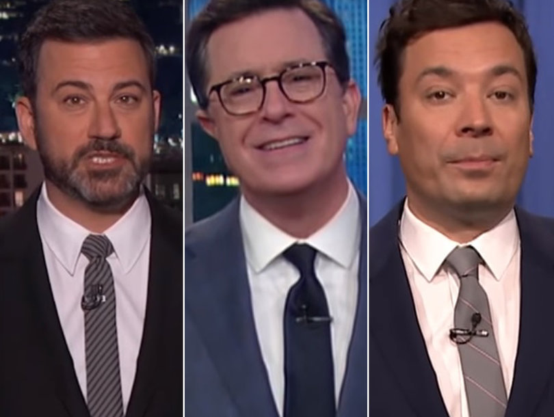 Late-Night Comedians Bash Trump for Plethora of White House Scandals (Video)