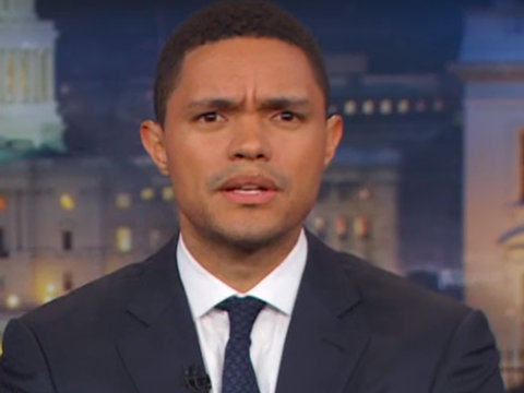Trevor Noah Thinks Trump Is Going to Serve Two Terms -- in Prison