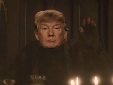 Kimmel Imagines Trump Slaughtering News Anchors in 'Game of Thrones' Parody