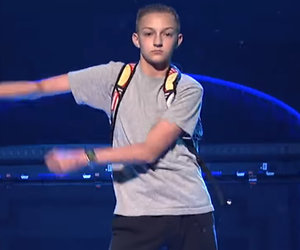 Katy Perry's Backpack Kid Just Wants to Go on 'Ellen' (Exclusive)