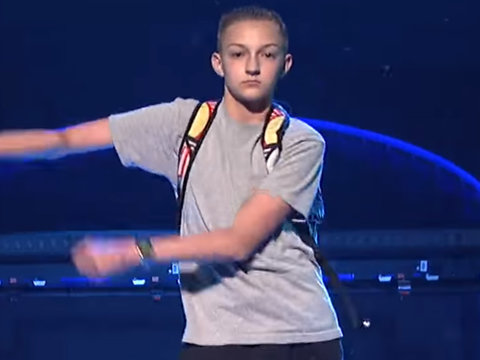 Katy Perry's Backpack Kid Just Wants to Go on 'Ellen'