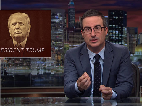 Why John Oliver Thinks Trump Impeachment Is Unlikely (Video)