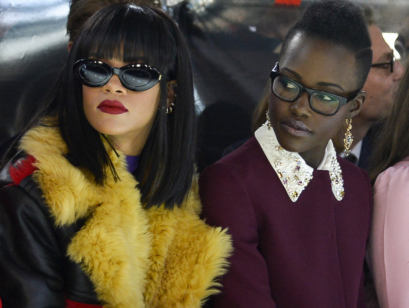 Rihanna and Lupita Will Co-Star In Netflix Film Thanks to Twitter