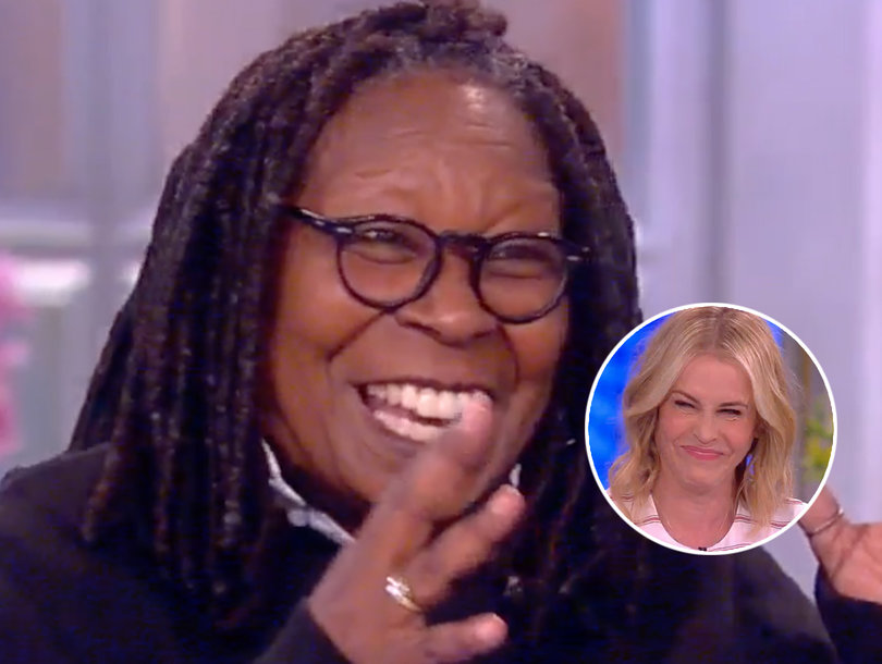 Why Whoopi Says 'Sci-Fi Movie' Trump Administration Makes Your Panties Wet