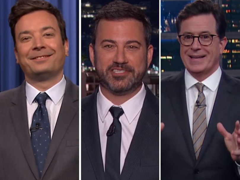 Late-Night Comedians Unpack Trump's Trip to the Middle East