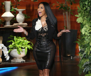 'Stop, Stop': Ellen Can't Handle Nicki Minaj Talking About 'Come on a Cone'