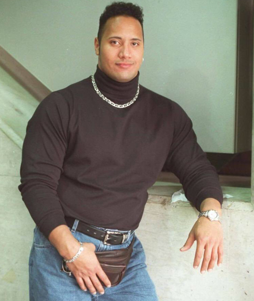 The Real Meaning Behind The Rock's Absurd Fanny Pack Picture (Photo)