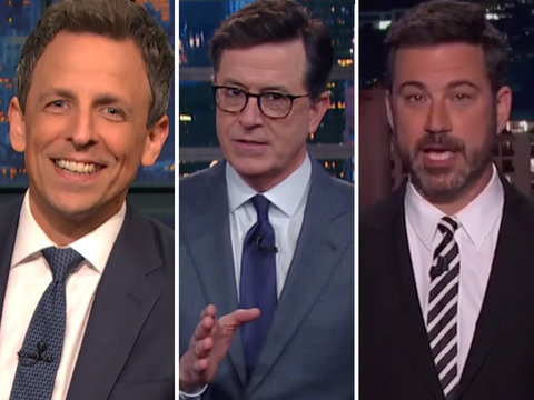Late-Night Stars Dissect Donald Trump's 'Fyre Festival of Budgets'