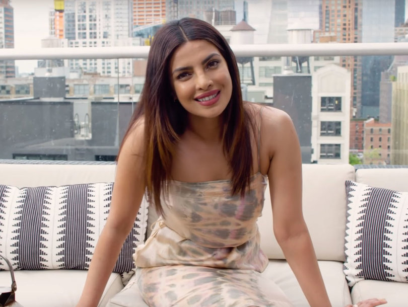 Why Is 'Baywatch' Star Priyanka Chopra Proposing to Tupac and Beating Up A…