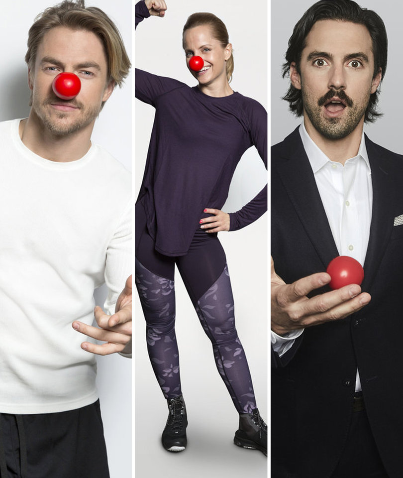 Stars Turned Up to Support NBC's 'Red Nose Day' 2017