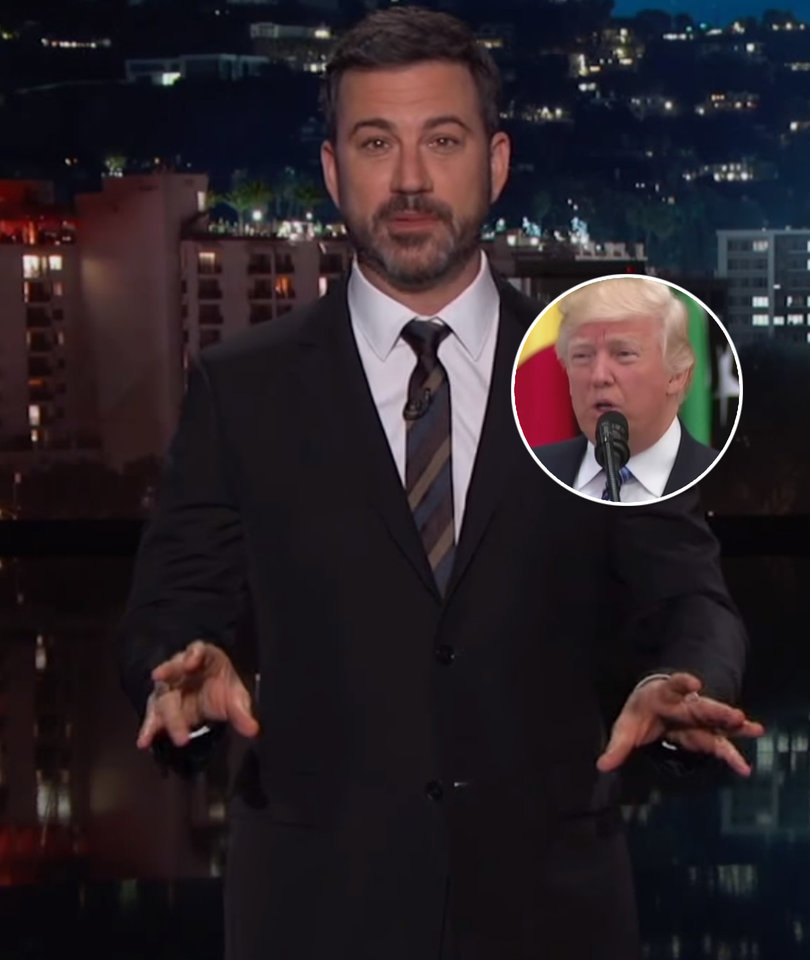 Kimmel Hires 4th Graders to Prove Trump Speaks Like a Kid