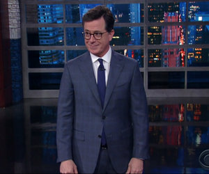 Colbert Blasts Trump For 'Alpha Male' Behavior at NATO Summit