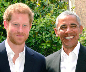 Barack Obama and Prince Harry Meet And Discuss Manchester Bombing