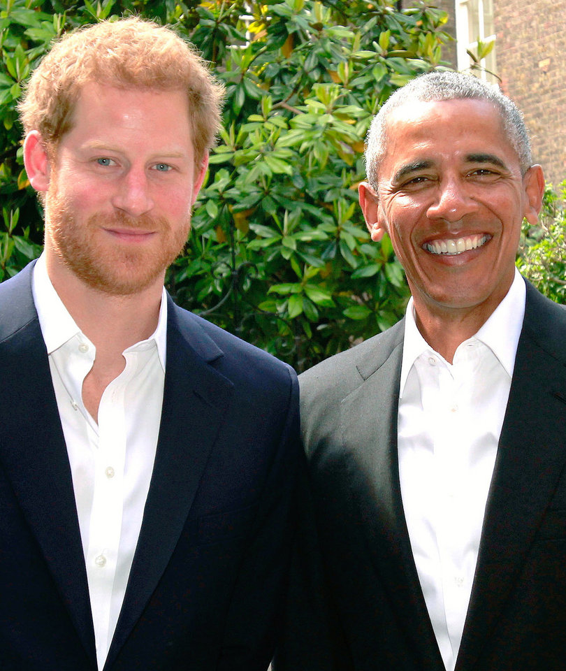 Barack Obama and Prince Harry Meet to Discuss Manchester Bombing