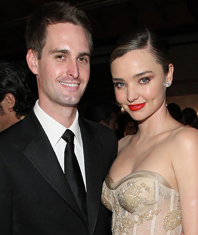 Miranda Kerr Sings 'Still The One' To Evan Spiegel At Their Wedding (from…