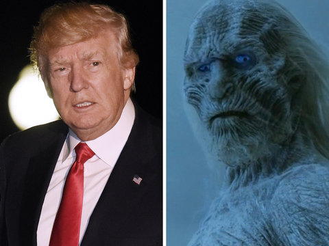 Why Trevor Noah Thinks Donald Trump Is 'Game of Thrones' Ultimate White Walker