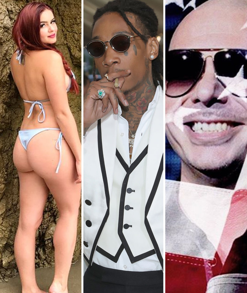 Why Winter, Pitbull and Wiz Khalifa Got Dragged by the Internet on Memorial Day