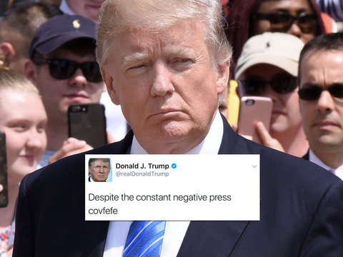 Twitter Drags Trump's #Covfefe Typo: See the Most Savage Celebrity Tweets