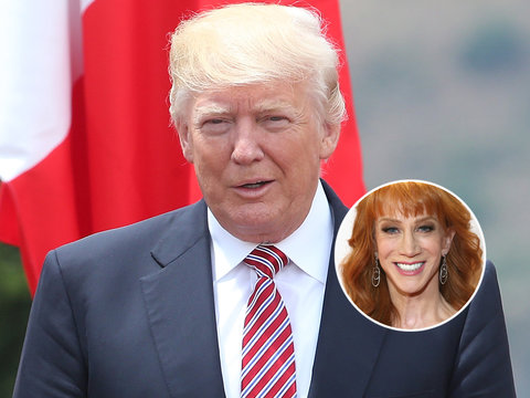 Donald Trump Says Kathy Griffin 'Should Be Ashamed of Herself'