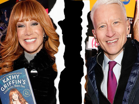 CNN Fires Kathy Griffin From New Year's Eve Program With Anderson Cooper