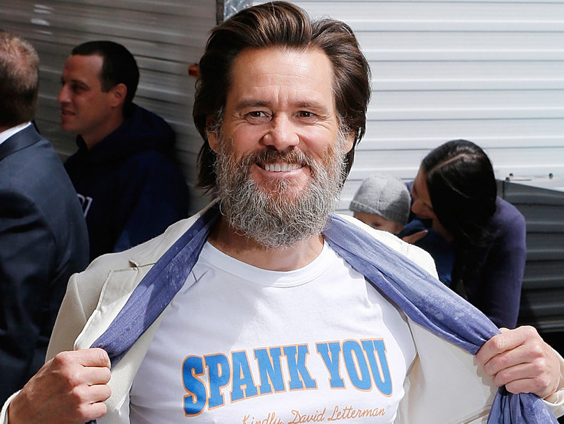 Jim Carrey Hints at His Own Fantasy of Hurting Trump While Defending Kathy Griffin