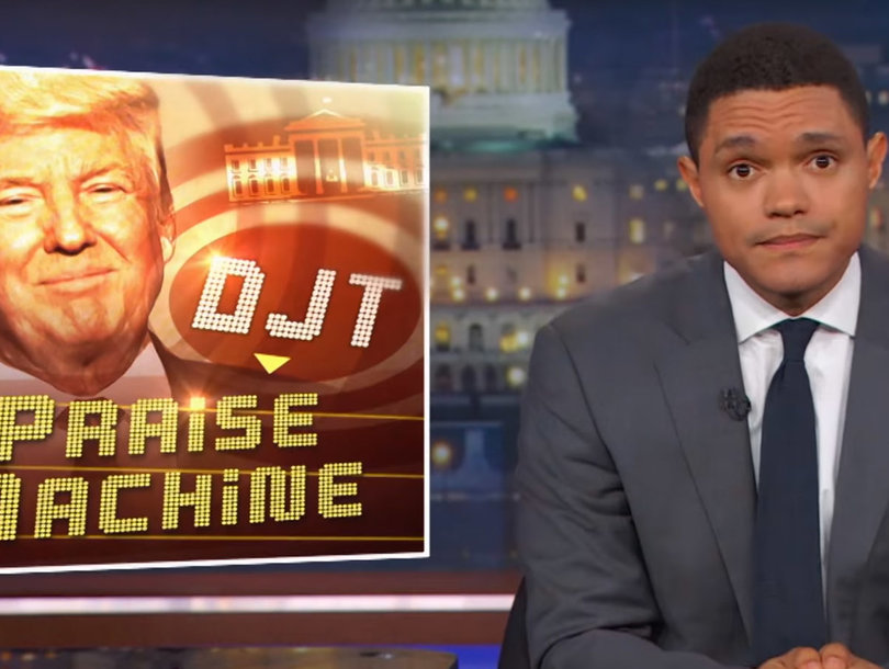Why Trevor Noah Thinks 'Covfefe' Is Trump's Safest Blunder Yet