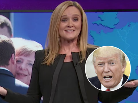 Sam Bee Credits 'Covfefe' as First Good Thing Trump Has Done for America