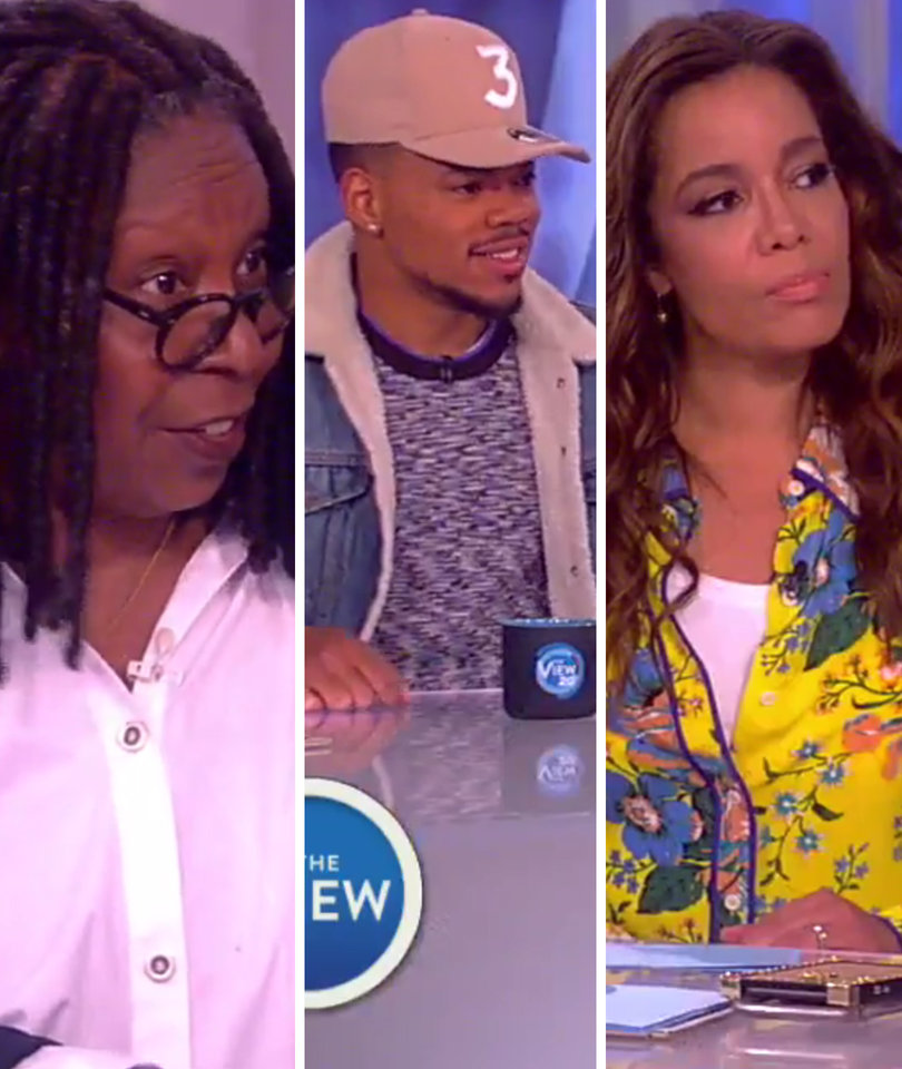 'The View' and Chance the Rapper Debate N-Word In Wake of Racist LeBron Graffiti
