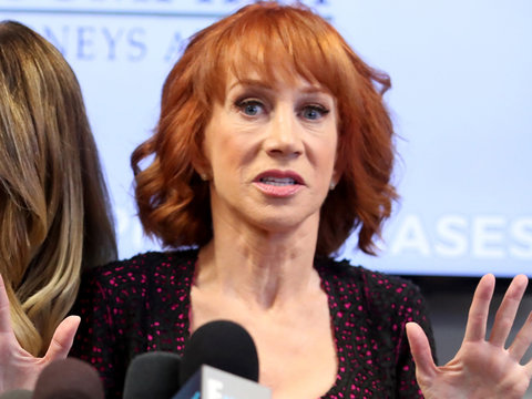 Kathy Griffin's Press Conference About Trump Garners Zero Sympathy