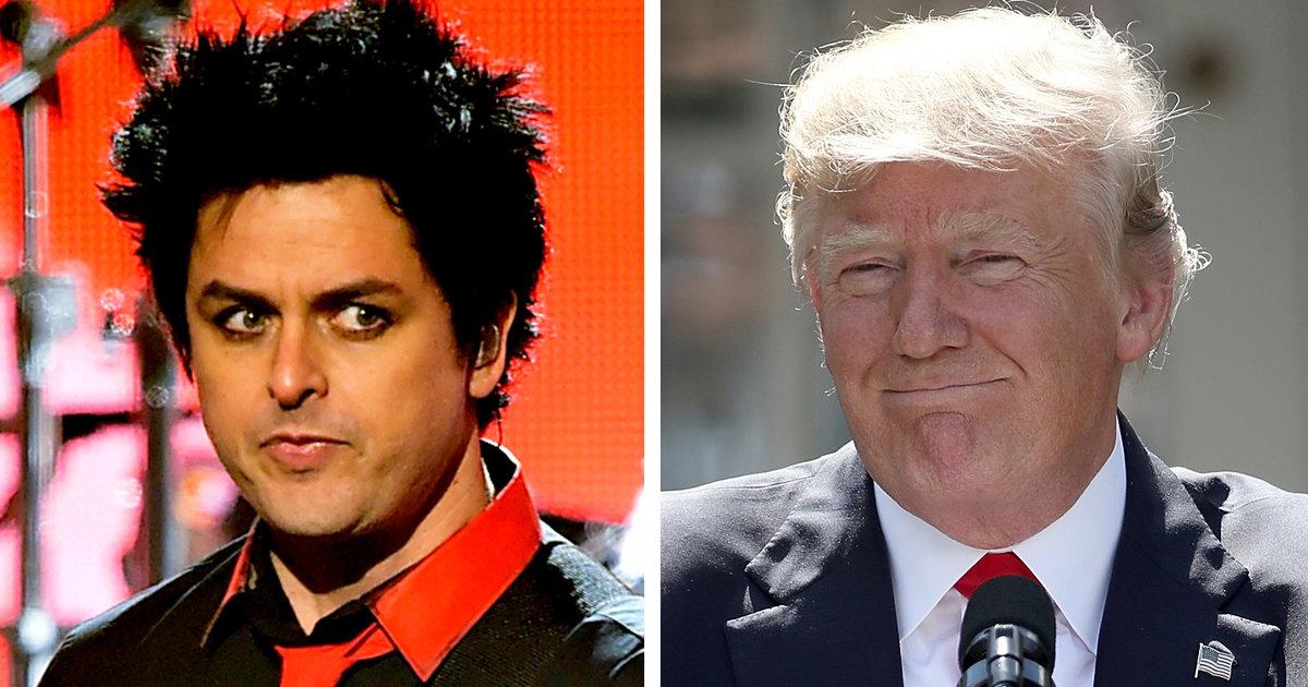 Green Day Frontman Declares Trump 'Worst President in the ...