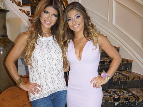 'RHONJ' Star Teresa Giudice Sends Oldest Daughter Gia to Prom