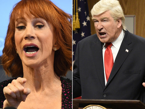 Alec Baldwin Defends Kathy Griffin Over Trump Photo: 'F--k Them, F--k Them All!'