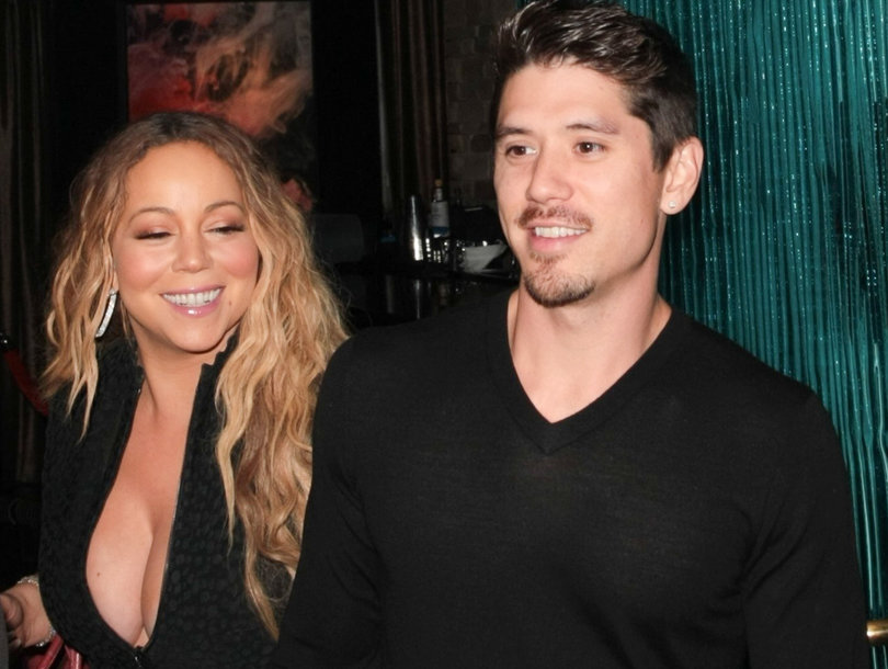 Mariah Carey Spotted Out with On-Again Off-Again BF