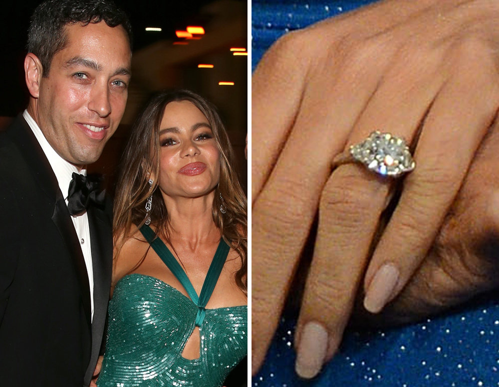 Celebrity Wedding Engagement Bling toofabcom