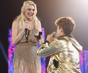 The Real Story Behind That LeLe Pons Kiss at MTV's Millennial Awards (Exclusive)