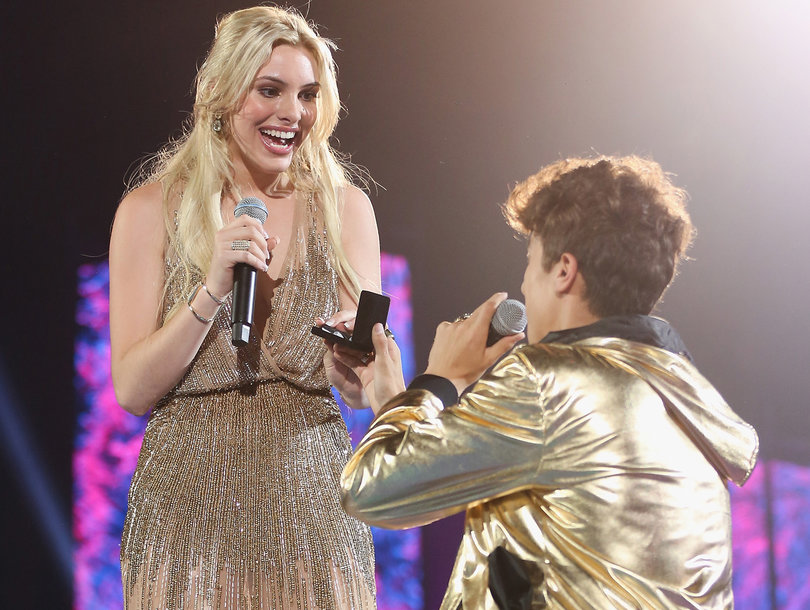 Lele Pons and Juanpa Zurita on MTV Milllenial Awards