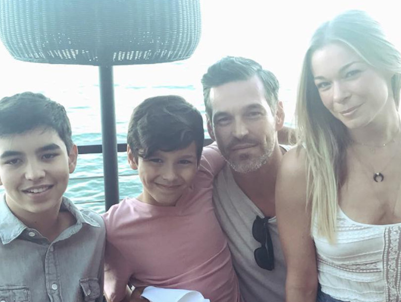 LeAnn Rimes and Eddie Cibrian Enjoy Step Mother's Day -- See More Stars and…