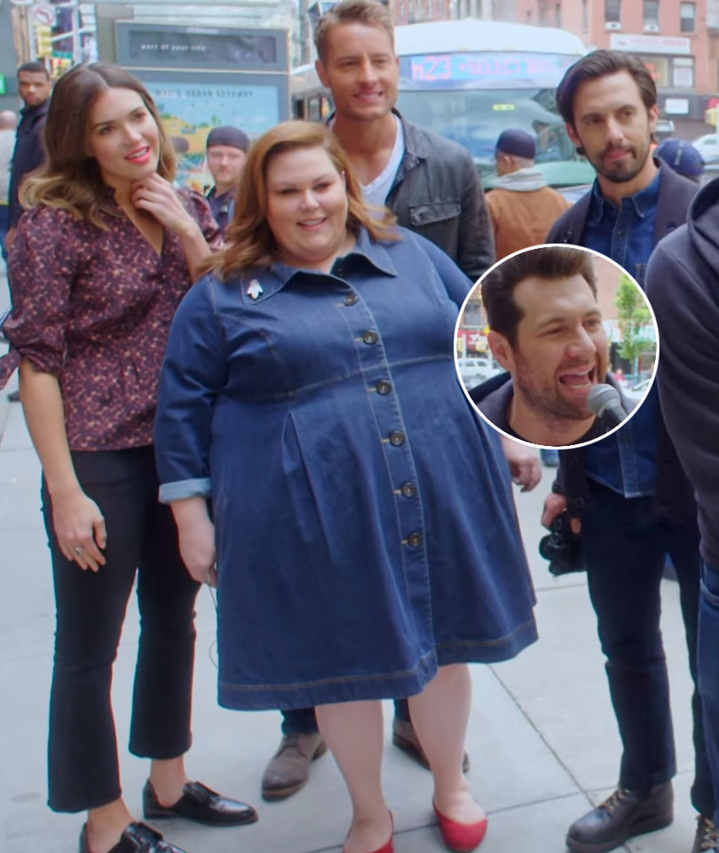 Guy With Big Balls Asks Mandy Moore Out During 'Billy on the Street'