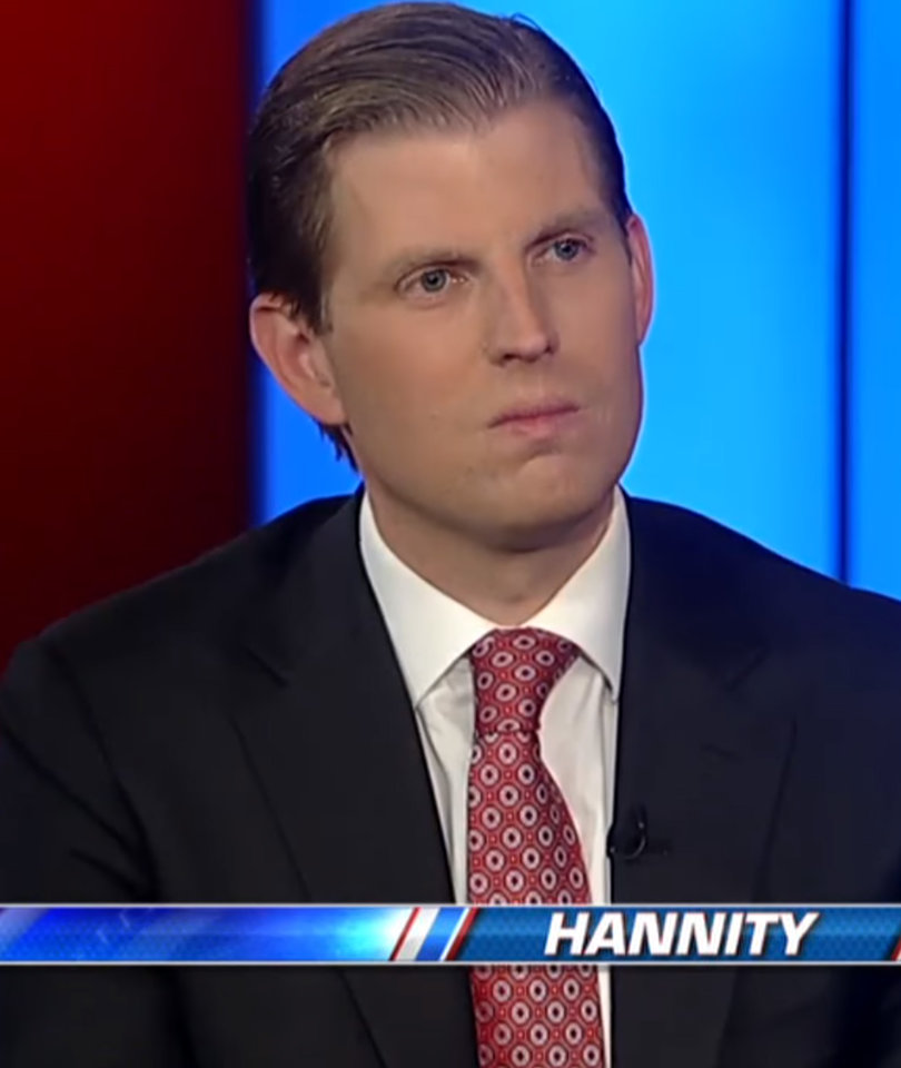 Eric Trump Skinned Alive On Social Media for Saying 'Democrats Aren't People'
