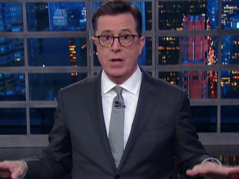 Colbert Says Trump Is 'At War With Reality' After NSA Russian Hacking Leak