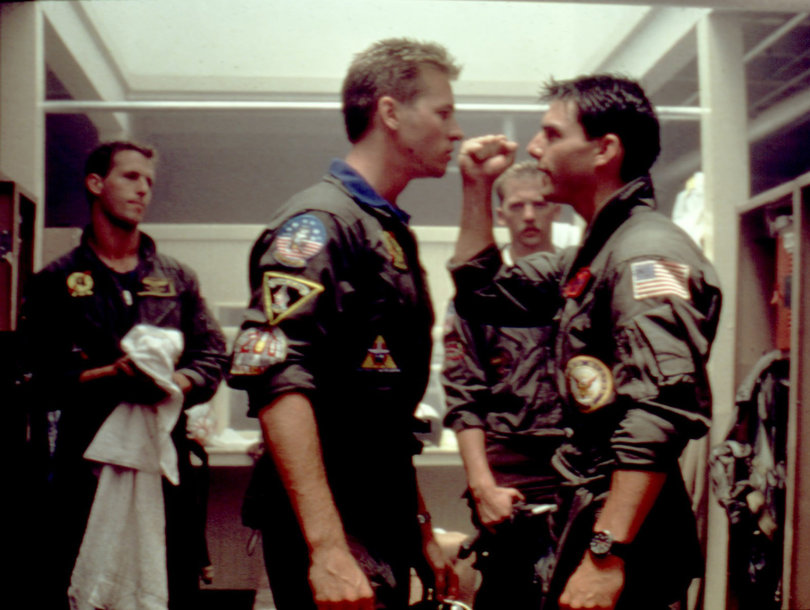 Tom Cruise and Val Kilmer Gear Up for 'Top Gun' Sequel: 'We Finally Figured Out the Story' (Video)