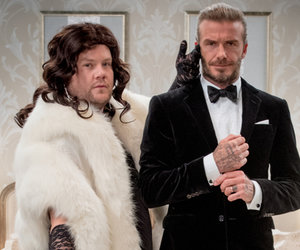 See David Beckham and James Corden's Fierce Battle to Be the Next James Bond