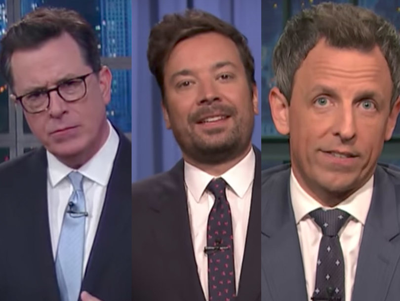 Late-Night Stars Dump on Trump's Credibility After James Comey's Testimony (Video)